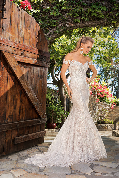 Ella gown from the 2019 Casablanca Bridal collection, as seen on Bride.Canada