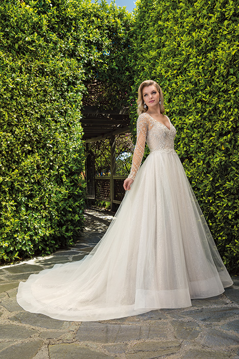 Naomi gown from the 2019 Casablanca Bridal collection, as seen on Bride.Canada