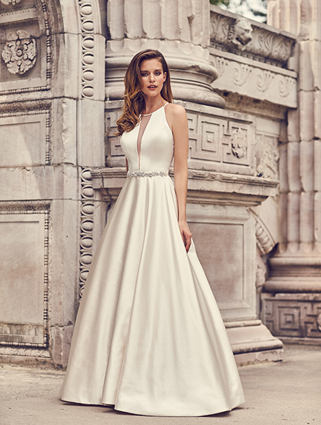gown from the 2019 Mikaella collection, as seen on Bride.Canada