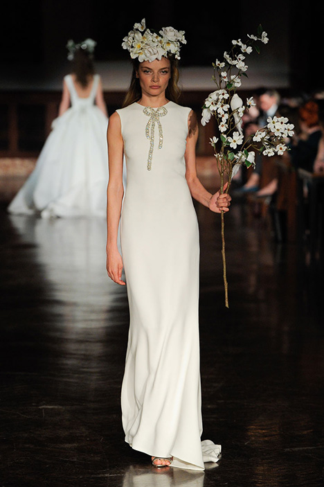 Bond of Love gown from the 2019 Reem Acra collection, as seen on Bride.Canada