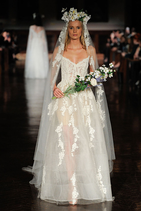 Breath of Life gown from the 2019 Reem Acra collection, as seen on Bride.Canada