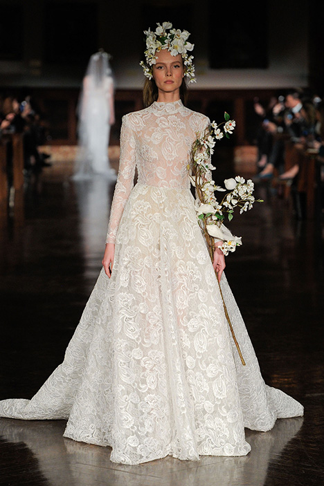 Divine Dream gown from the 2019 Reem Acra collection, as seen on Bride.Canada