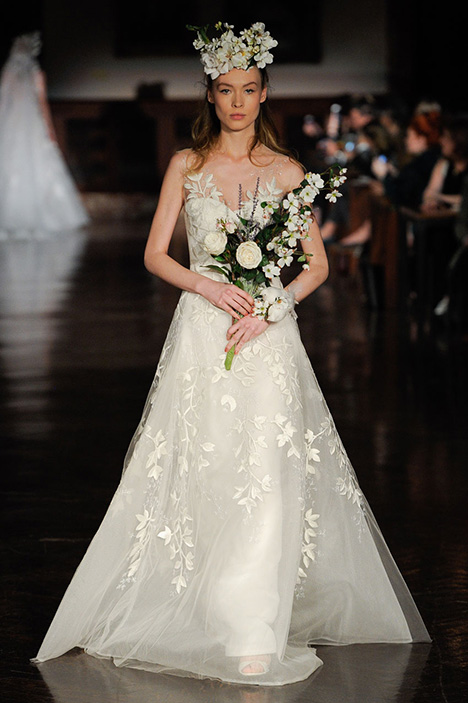 Essence of Joy gown from the 2019 Reem Acra collection, as seen on Bride.Canada