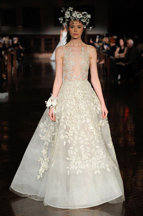 Kiss of Delight gown from the 2019 Reem Acra collection, as seen on Bride.Canada