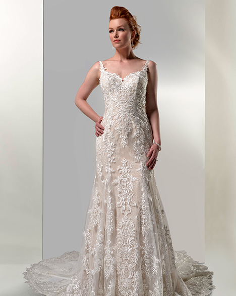 VE8424 gown from the 2019 Venus Bridal collection, as seen on Bride.Canada