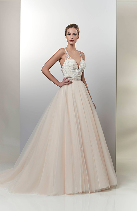 AT4719 gown from the 2019 Venus Bridal: Angel & Tradition collection, as seen on Bride.Canada