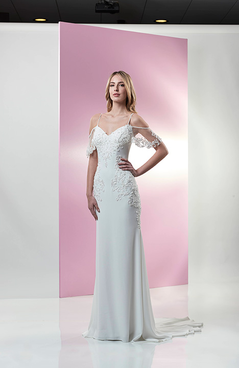 AT4734N gown from the 2019 Venus Bridal: Angel & Tradition collection, as seen on Bride.Canada