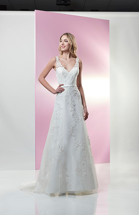 AT4737N gown from the 2019 Venus Bridal: Angel & Tradition collection, as seen on Bride.Canada