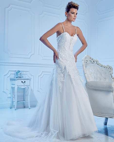 AT4741 gown from the 2019 Venus Bridal: Angel & Tradition collection, as seen on Bride.Canada