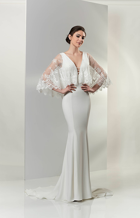 PA9316 gown from the 2019 Venus Bridal: Pallas Athena collection, as seen on Bride.Canada