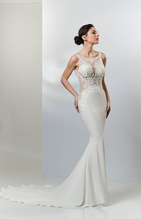 PA9317 gown from the 2019 Venus Bridal: Pallas Athena collection, as seen on Bride.Canada