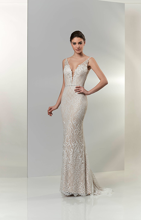 PA9318 gown from the 2019 Venus Bridal: Pallas Athena collection, as seen on Bride.Canada