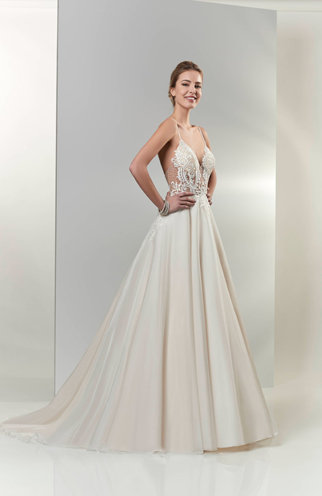 PA9319 gown from the 2019 Venus Bridal: Pallas Athena collection, as seen on Bride.Canada