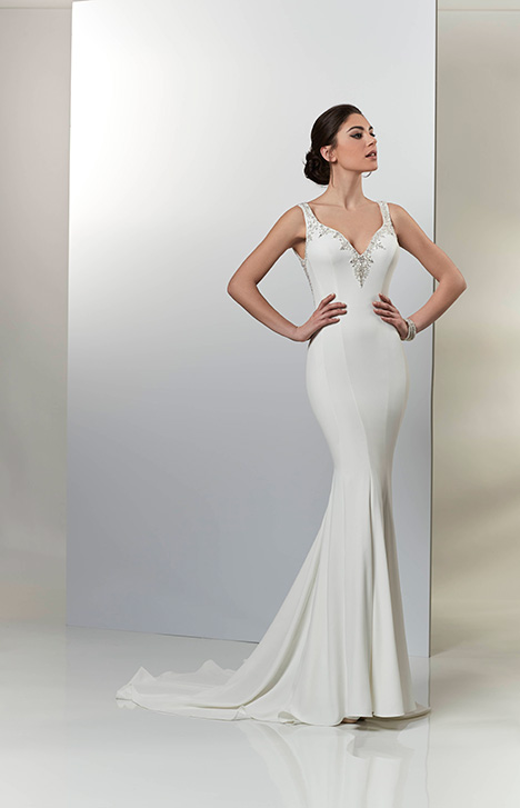 PA9323 gown from the 2019 Venus Bridal: Pallas Athena collection, as seen on Bride.Canada