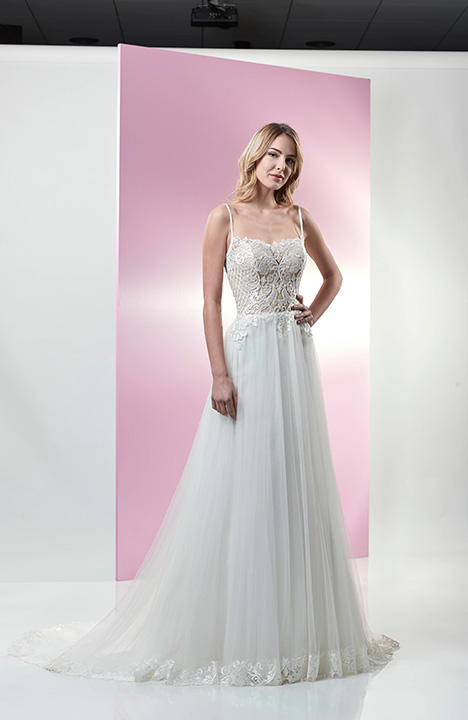 PA9334N gown from the 2019 Venus Bridal: Pallas Athena collection, as seen on Bride.Canada