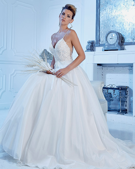 PA9343 gown from the 2019 Venus Bridal: Pallas Athena collection, as seen on Bride.Canada