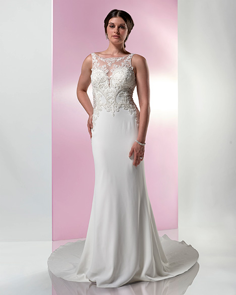 PA9354 gown from the 2019 Venus Bridal: Pallas Athena collection, as seen on Bride.Canada