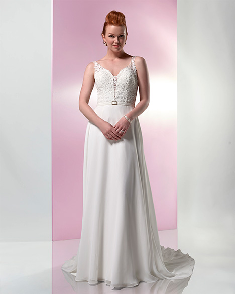VN6989 gown from the 2019 Venus Informal collection, as seen on Bride.Canada