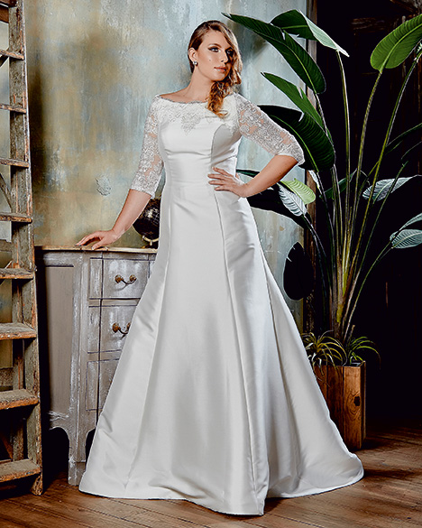 VW8786 gown from the 2019 Venus Woman collection, as seen on Bride.Canada