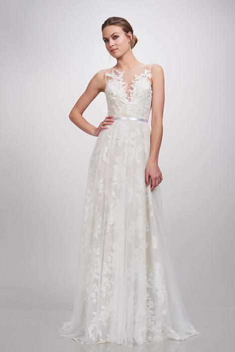 Ingrid gown from the 2018 Theia White Collection collection, as seen on Bride.Canada