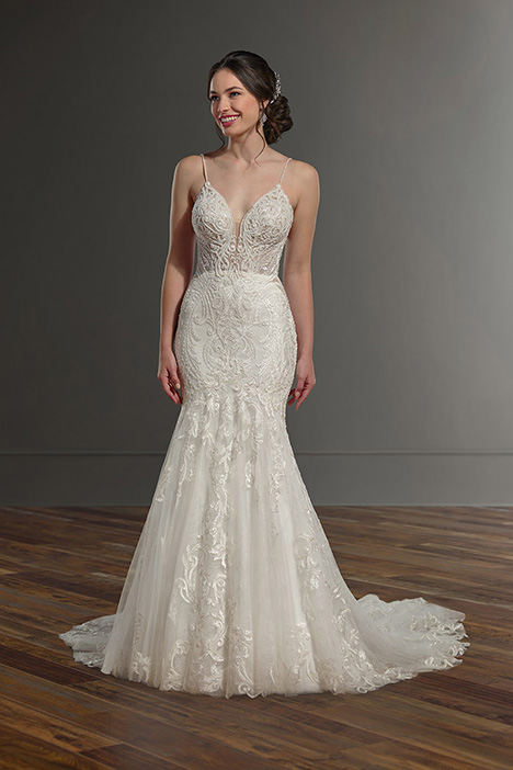 1002 gown from the 2019 Martina Liana collection, as seen on Bride.Canada