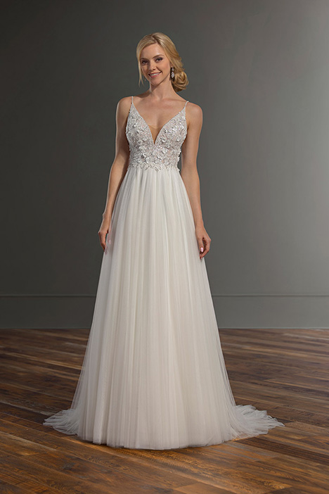 1068 gown from the 2019 Martina Liana collection, as seen on Bride.Canada