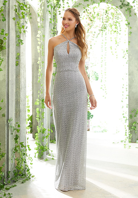 21606 gown from the 2019 Morilee Bridesmaids collection, as seen on Bride.Canada