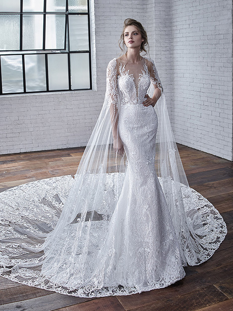 Cayenne gown from the 2019 Badgley Mischka Bride collection, as seen on Bride.Canada