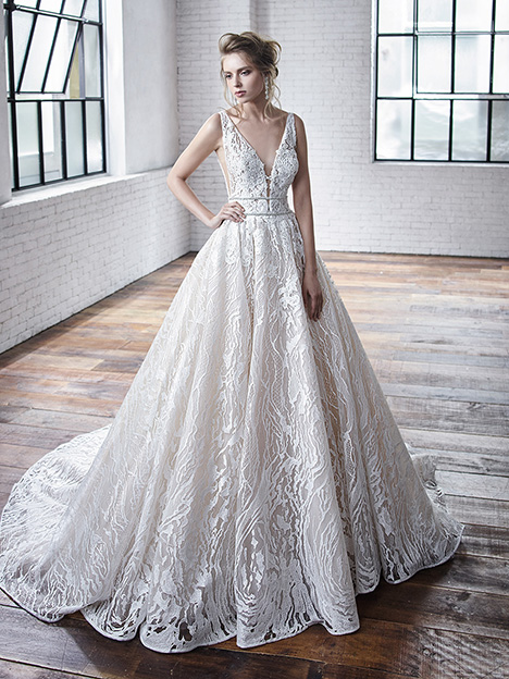 Celeste gown from the 2019 Badgley Mischka Bride collection, as seen on Bride.Canada