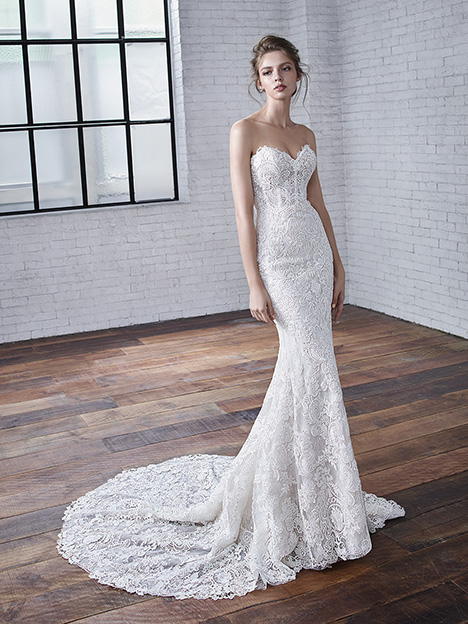 Celine gown from the 2019 Badgley Mischka Bride collection, as seen on Bride.Canada