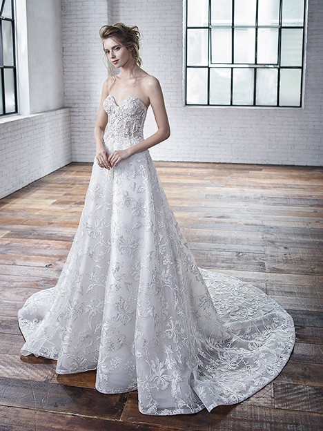 Charlene gown from the 2019 Badgley Mischka Bride collection, as seen on Bride.Canada