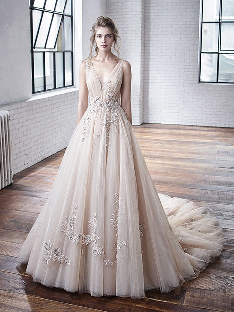 Cheryl gown from the 2019 Badgley Mischka Bride collection, as seen on Bride.Canada
