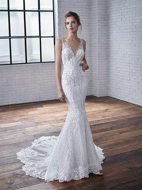 Claire gown from the 2019 Badgley Mischka Bride collection, as seen on Bride.Canada