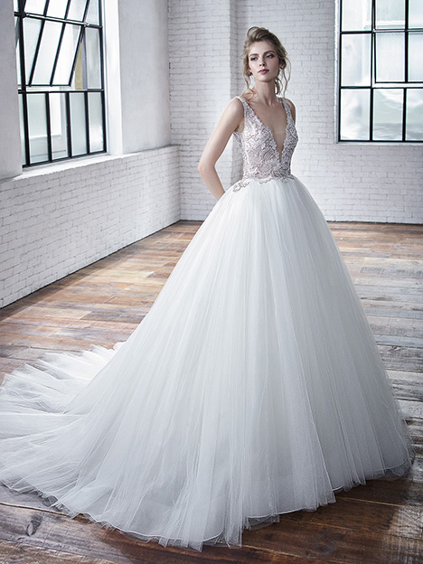 Colette gown from the 2019 Badgley Mischka Bride collection, as seen on Bride.Canada