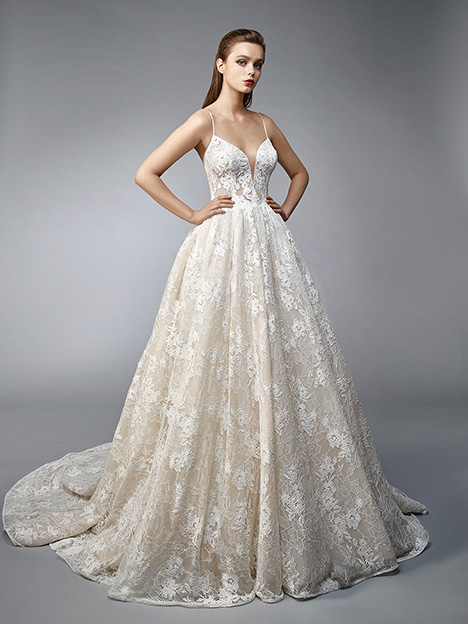 Nalee gown from the 2019 Enzoani collection, as seen on Bride.Canada