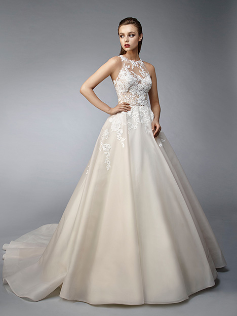Nikola gown from the 2019 Enzoani collection, as seen on Bride.Canada