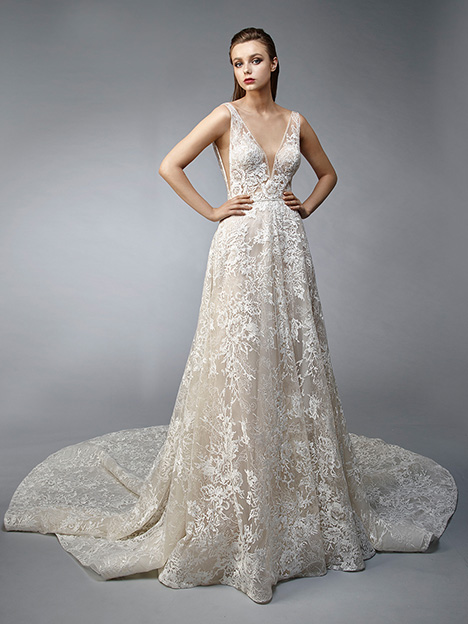 Nirvana gown from the 2019 Enzoani collection, as seen on Bride.Canada