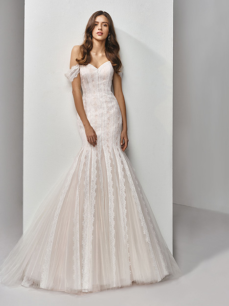 BT19-28 gown from the 2019 Enzoani Beautiful Bridal collection, as seen on Bride.Canada