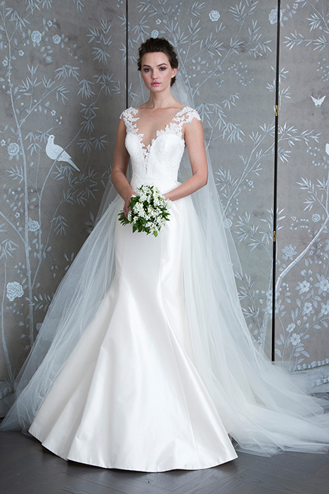 L9128 gown from the 2019 Legends Romona Keveza collection, as seen on Bride.Canada