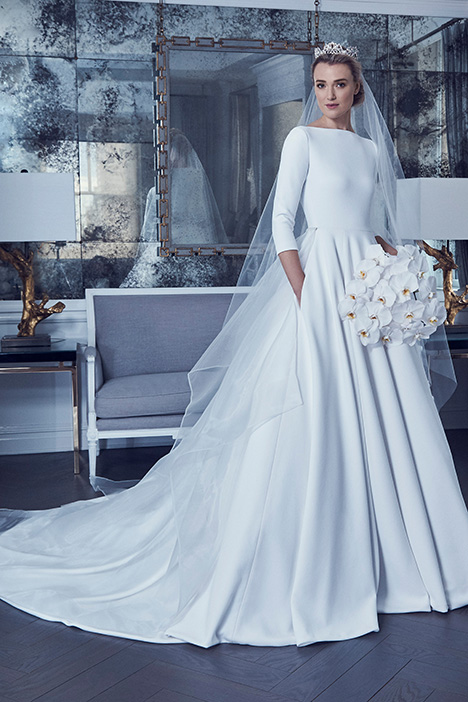 RK9405 gown from the 2019 Romona Keveza Collection collection, as seen on Bride.Canada
