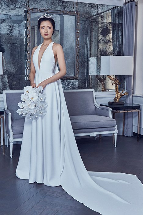 RK9402 gown from the 2019 Romona Keveza Collection collection, as seen on Bride.Canada