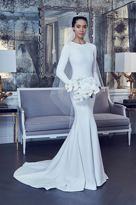 RK9404 gown from the 2019 Romona Keveza Collection collection, as seen on Bride.Canada