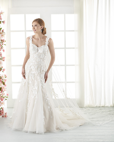82 gown from the 2018 Bonny Bridal collection, as seen on Bride.Canada