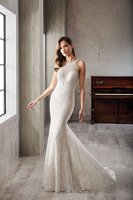 gown from the 2019 Eddy K Couture collection, as seen on Bride.Canada