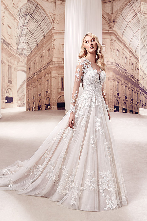 MD269 gown from the 2019 Eddy K Milano collection, as seen on Bride.Canada