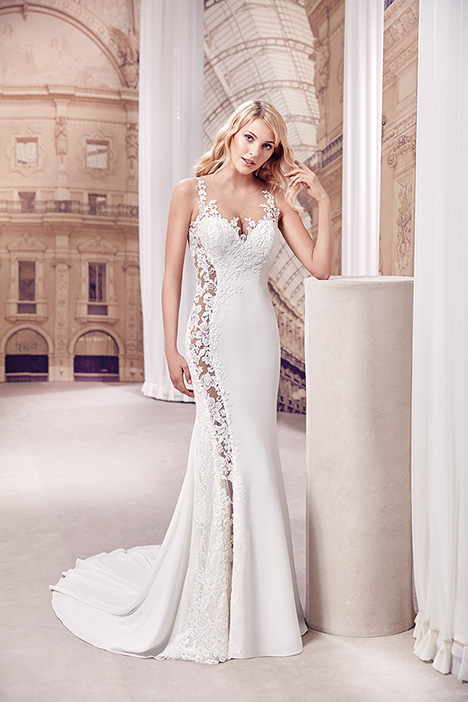 MD271 gown from the 2019 Eddy K Milano collection, as seen on Bride.Canada