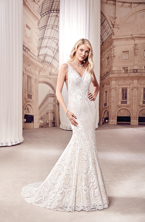 MD272 gown from the 2019 Eddy K Milano collection, as seen on Bride.Canada