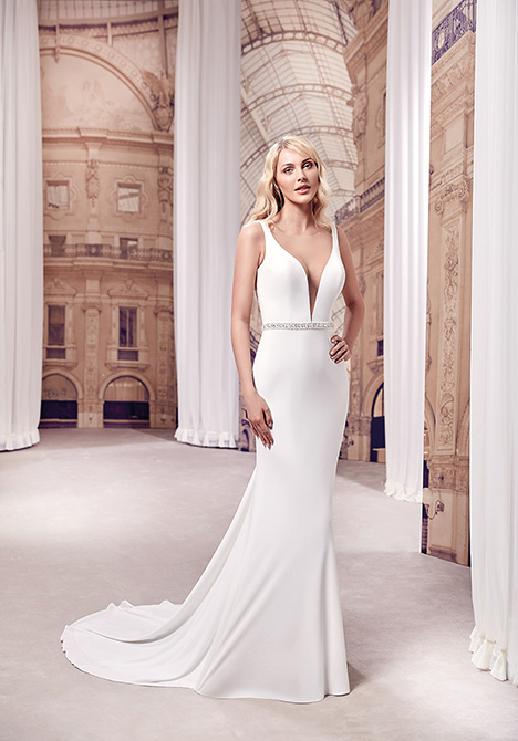 MD274 gown from the 2019 Eddy K Milano collection, as seen on Bride.Canada