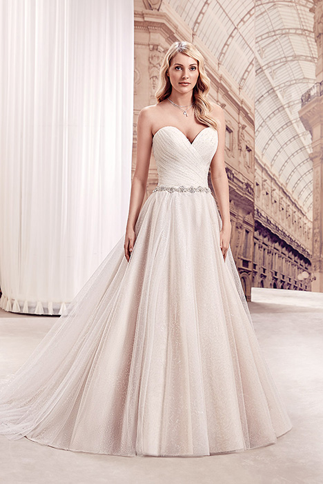 MD275 gown from the 2019 Eddy K Milano collection, as seen on Bride.Canada