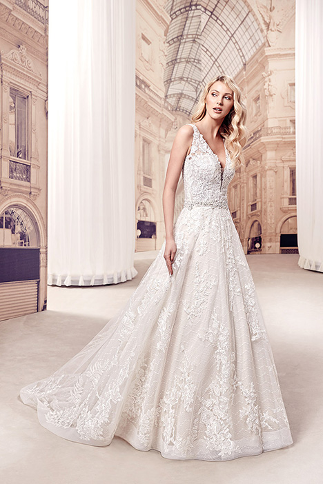 MD276 gown from the 2019 Eddy K Milano collection, as seen on Bride.Canada